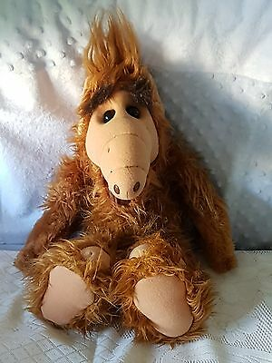 """Vintage 1986 Authentic Alf Plush Doll; 18"""" Tall.  Made In Korea.  Excellent Cond"""