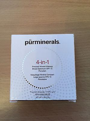 pur minerals 4in1 pressed powder porcelain shade  , new