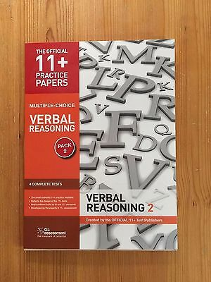 11+ Practice Papers, Verbal Reasoning Pack 2, Multiple Choice - 4 Tests