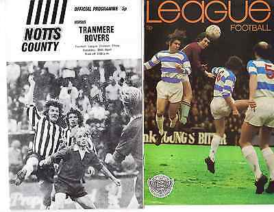 Notts County v Tranmere Rovers, Division 3, Saturday, 28th, April, 1973