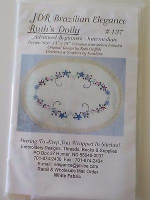 Jdr Brazilian Elegance - Ruth's Doily By Ruth Griffith