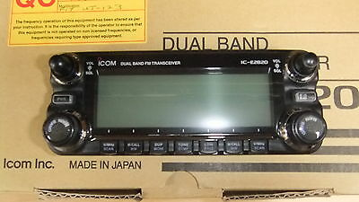 Used Icom Ic-E2820 Dual Band Mobile Transceiver.