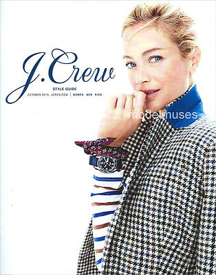 J. CREW Catalog October 2015 CAROLYN MURPHY Erin Wasson AMBER VALLETTA
