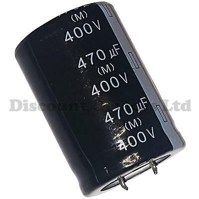 470uF 400V Radial Electrolytic Capacitor 105C