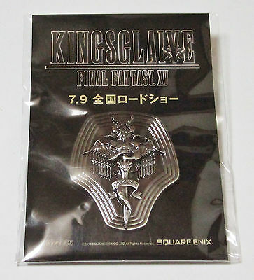 KINGSGLAIVE FINAL FANTASY XV FF15 Pin JAPAN limited Theater Bonus Not FOR SALE