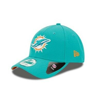 New Era 9FORTY NFL Miami Dolphins The League Teal Curved Peak Hat Baseball Cap