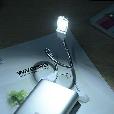1PC Mini Portable Bright 3 LED Night Light USB Lamp for PC Laptop Reading Helper
