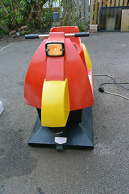 Kiddie Ride Scooter, Good Condition, 50P Coin Slot, Coin Box Protected, Courier?