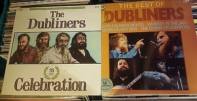 The Dubliners Collection Of 2 Irish Folk Vinyl Lps L@@k