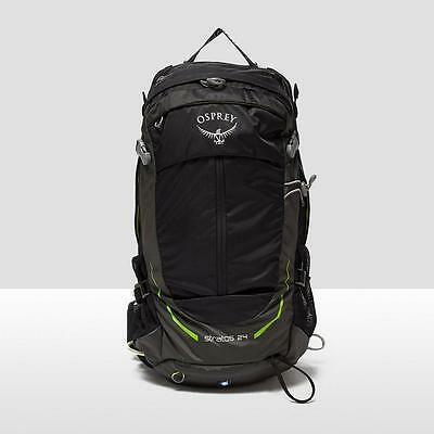 Osprey Stratos 24 Backpack Black One Size Black