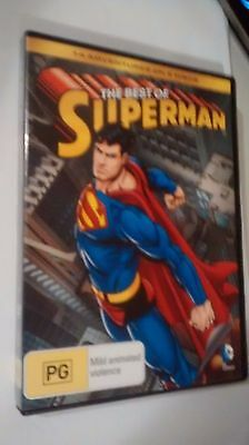 The Best Of Superman - Dvd 2 Disc Set - Vgc - R4 - 14 Adventures - Free Post