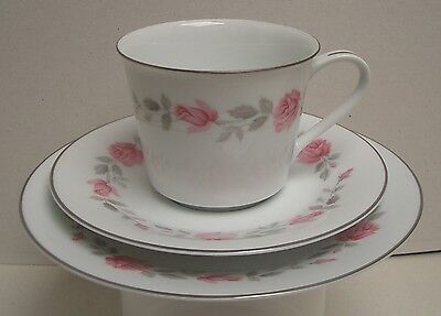 "Vintage Noritake (Royal Ceramics) RC Trio, ""Carmen"", #753, Great Used Condition"