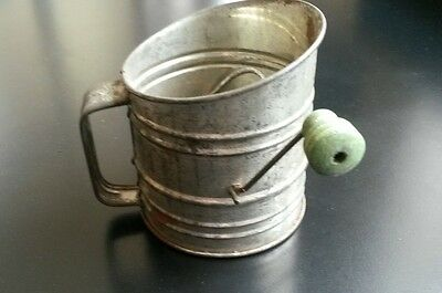 vintage one cup flour sifter