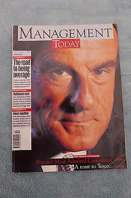 Management Today Magazine: December 1996, Lord MacLaurin, ExCon