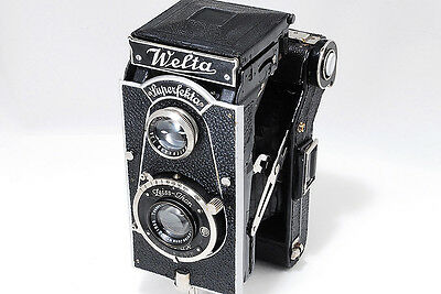 Rare! Welta  Superfekta TLR with Jena Tessar 10.5cm F4.5 Lens [VG+++] from Japan