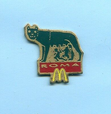 Pins  Mc  Donald's Roma Italien  Wolf  Ph199