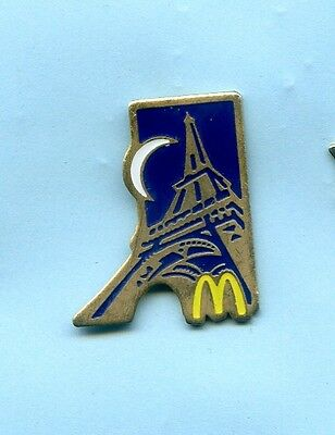 Pins  Mc  Donald's Tour Eiffel  Paris France  Ph197