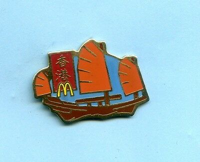 Pins  Mc  Donald's  China Segelboot  Ph194
