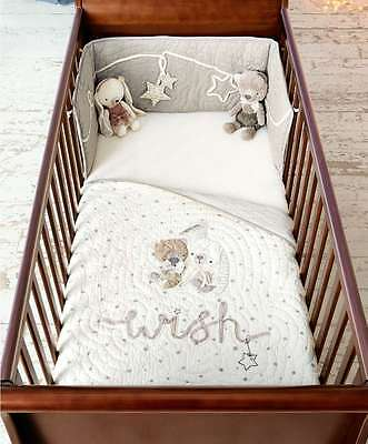 Millie Boris Cot / cotbed quilt in excellent condition, used only for show