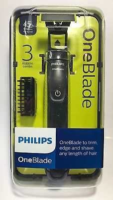 Philips OneBlade Electric Trimmer Styler Shaver 3x Combs Wet & Dry QP2520/25