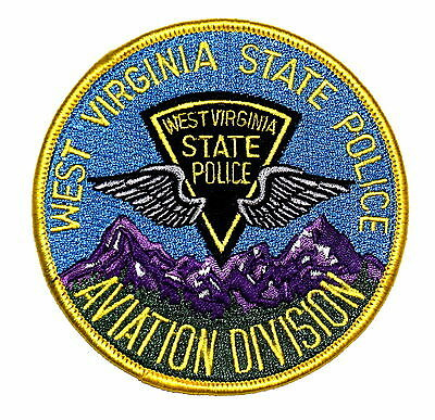 WEST VIRGINIA STATE POLICE – AVIATION DIVISION - WV Police Sheriff Patch WINGS ~