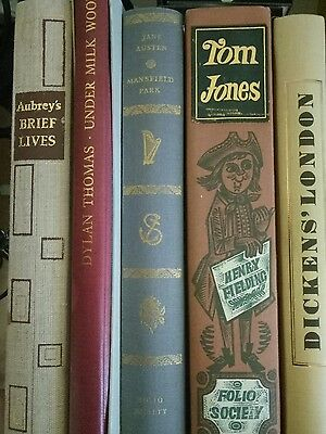 A selection of folio society books