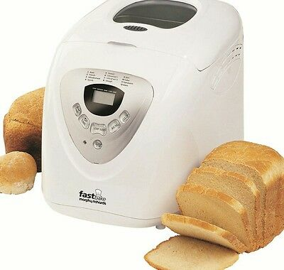Morphy Richards 48280 Fastbake Breadmaker - White  BRAND NEW