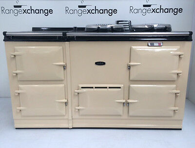 Reconditioned Aga Cooker. Cream. 4oven 13amp Electric Upgrade.