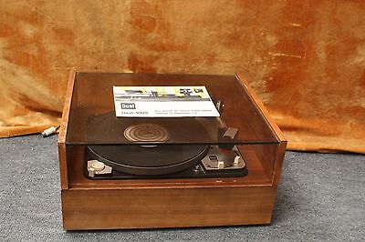 Dual 1009 Audiophile Vintage Turntable With Original Plinth And Dust Cover