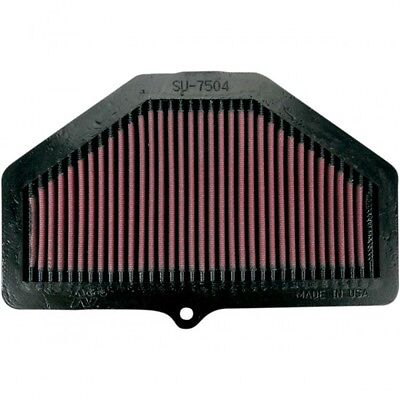 Air filter suzuki gsx-r600/750 04-05 - su-7504 - K & n  10110306 (SU-7504)