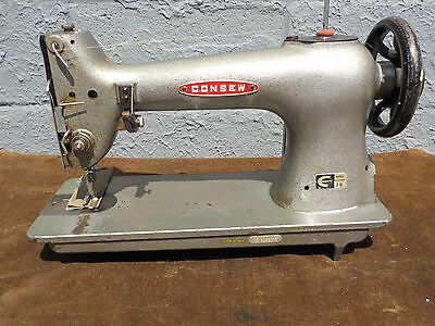 Industrial Sewing Machine Model Consew 28 single needle walking foot- Leather
