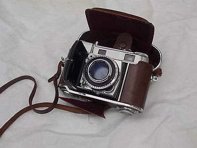 Retina III C  Camera and case, vintage 35mm film camera