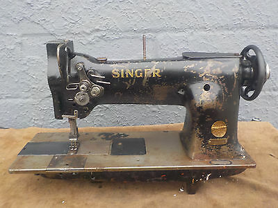 Industrial Sewing Machine Singer 112-115 two needle -Leather