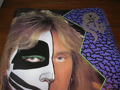 KISS Peter Criss Cat #1 lp limited rare numbered vintage poster stamp signed