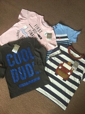 Next Boys T-Shirts And Top Brand New Age 4-5  Years