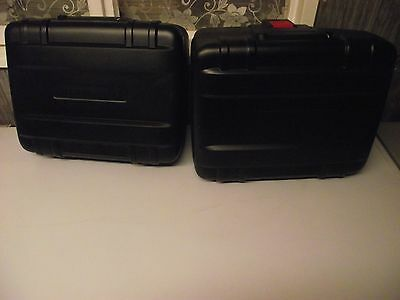 Pair of BMW Vario cases/panniers luggage