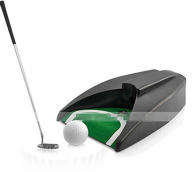 Golf Ball Automatic Returner Putting Aid @@**