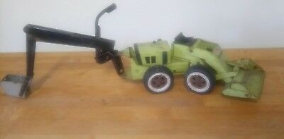 Vintage metal Tonka Canada Trencher Construction Toy 1970s