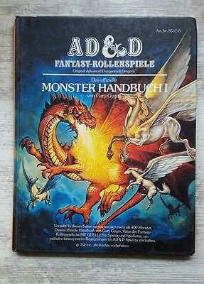 MONSTER HANDBUCH I deutsch TSR'77 AD&D