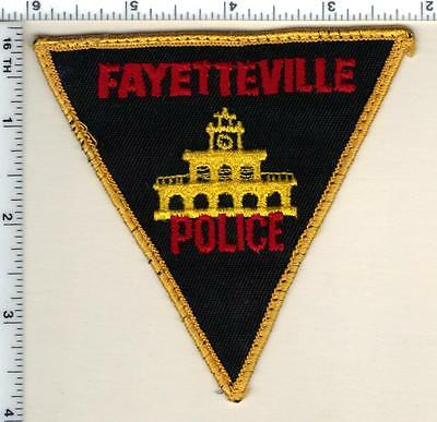 Fayetteville Police (North Carolina)  Shoulder Patch - from 1992