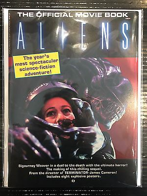 Aliens Official Movie Book (1986) Inc. Posters VF+ Free UK P&P Starlog Magazine
