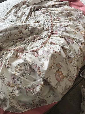M&s St Michael Double Bed Cover And 2 Pillow Cases