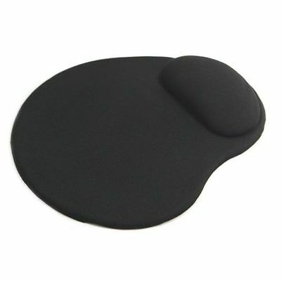Black Comfort Wrist Rest Support Mat Mouse Mice Pad Computer PC Laptop Soft x 10