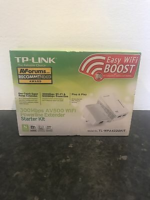 TP-Link 300Mbps AV500 WiFi Powerline Extender Adapter Wifi Broadband Booster
