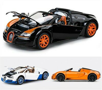 1:18 Bugatti Veyron Sports Car Model Gift Decoration Collection X1PC Xmas Gift