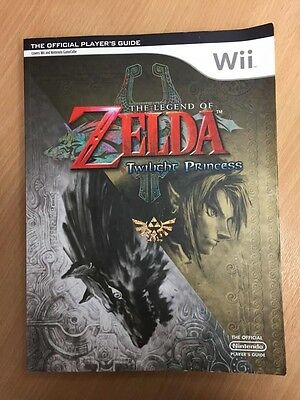 The Legend of Zelda Twilight Princess - Official Player's Guide Wii/Game Cube