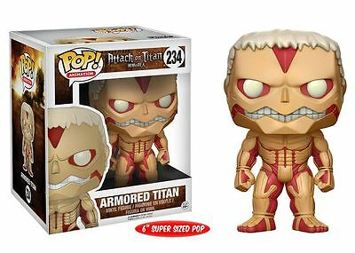 "Funko POP! Attack on Titan: Armored Titan 6"" - Stylized Vinyl Figure 234 NEW"