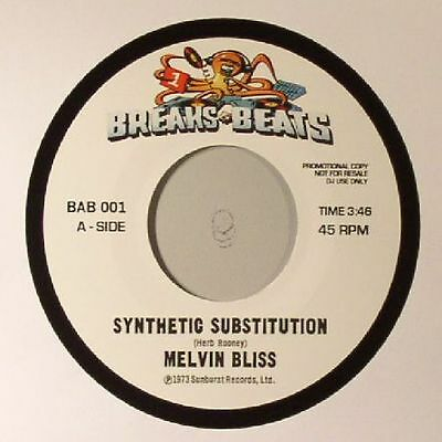 "BLISS, Melvin/SWEET DADDY FLOYD - Synthetic Substitution - Vinyl (7"")"