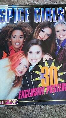 Vintage Spice Girls Magazine Top Of The Pops 30 Exclusive Posters 90s plus extra