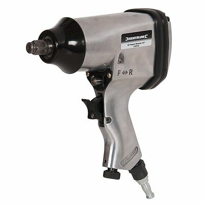 Silverline 719770 Air Impact Wrench, 1/2-inch